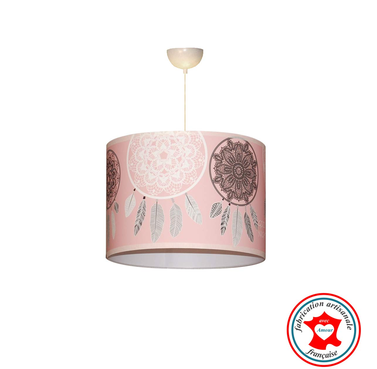 Suspension enfant'Attrape rê ves', suspension fille, lampe fille, dé coration chambre fille, dé coration fille décoration chambre fille décoration fille