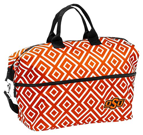 NCAA Oklahoma State Cowboys Adult Expandable Tote, Orange by Logo Brands