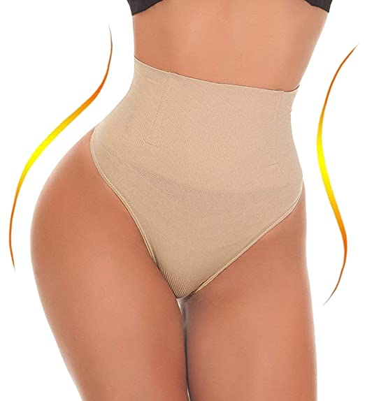 74ac2371631 Jenbou Waist Cincher Girdle Tummy Control Panties Trainer Sexy Thong Body  Shaper Slimming Shapewear for Women