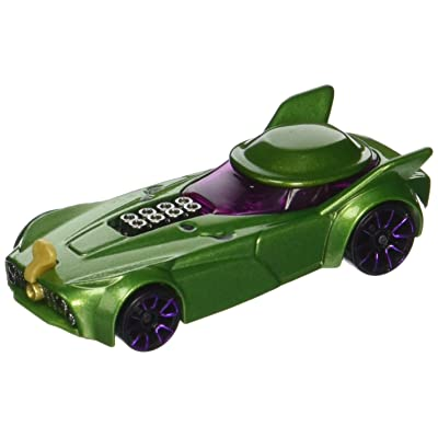 Hot Wheels DC Universe Riddler Vehicle: Toys & Games