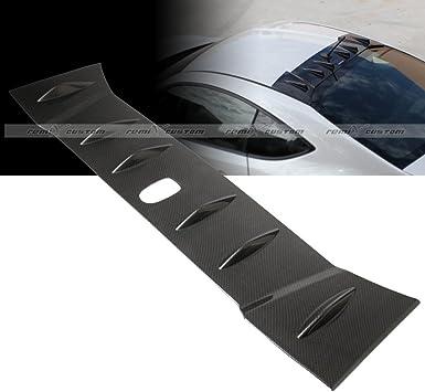 For 13 14 FRS BRZ Carbon Fiber Painted Vortex Generator Shark Fin Roof Spoiler