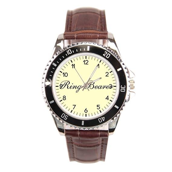 Smile té mejor reloj de pulsera para hombres amor Matron de Honor para hombre muñeca relojes