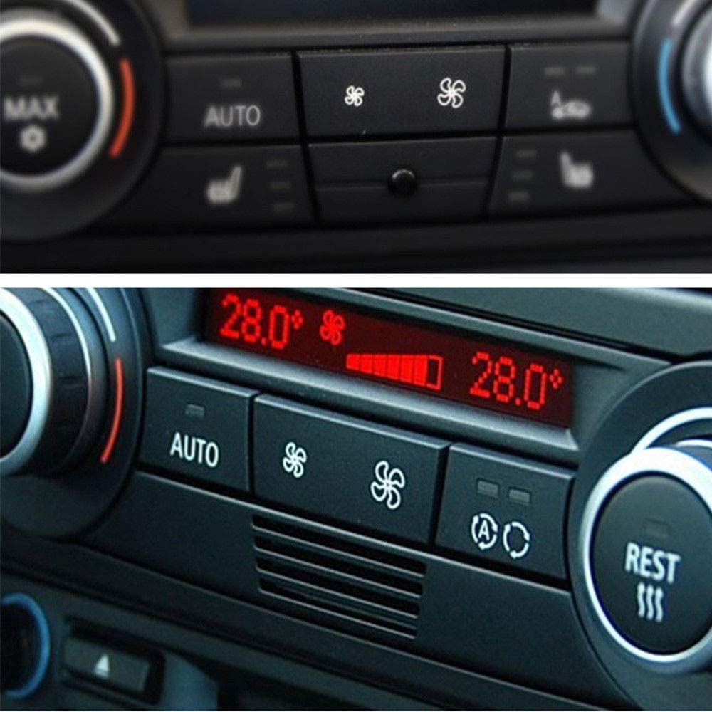 Para BMW E92//E90 F25 X1 X3//E84 A//C Calentador botón de control climático de aire acondicionado