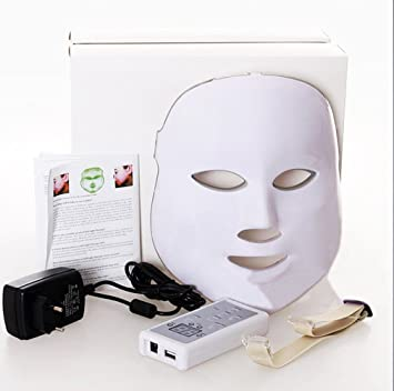 Angel Kiss LED Photon Therapy Red Blue Green Light Treatment Facial Beauty  Skin Care Phototherapy Mask