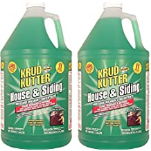 Krud Kutter HS01 Green Pressure Washer Concentrate House and Siding Cleaner with Mild Odor, 1 Gallon