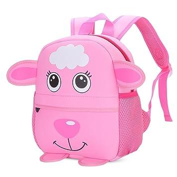 Pannow Little Kid Toddler Backpack, Baby Boys Girls Kindergarten Pre School  Bags Cute Neoprene Cartoon b9e5420866