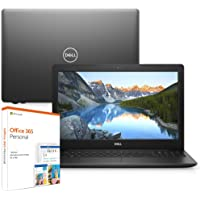 "Notebook Dell Inspiron i15-3583-M30F 8ª Geração Intel Core i7 8GB 2TB Placa de vídeo 15.6"" Windows 10 McAfee Preto Office 365"
