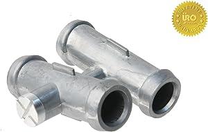 URO Parts 17127515494PRM Cooling Hose Connector, Aluminum
