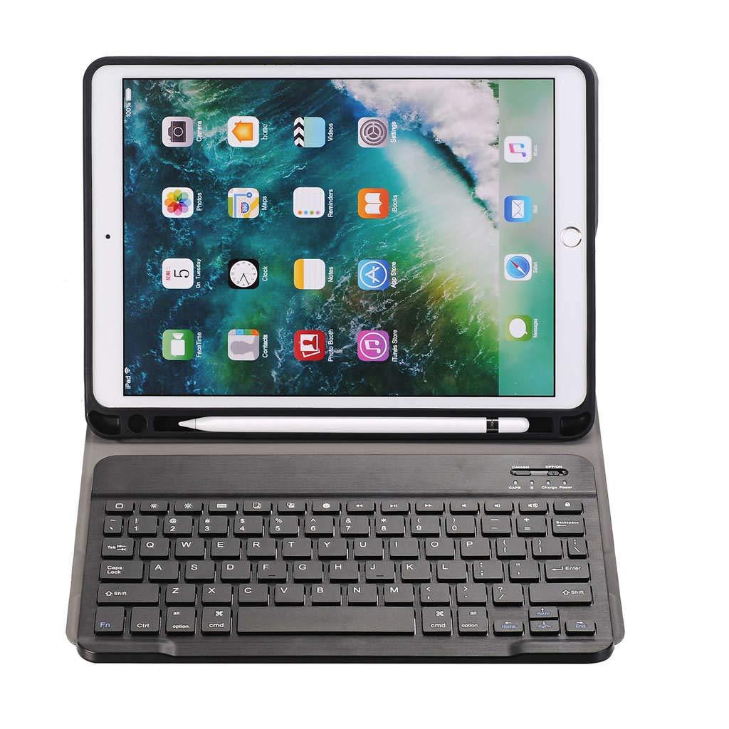 完売 TOOGOO (ブラック) 10.5ケース Pro 取り外し可能なワイヤレスキーボード付き Apple 超薄型スタンドカバーケース ペンシルホルダー付き Apple iPad Pro 10.5タブレット用 (ブラック) B07KW9998F, 餃子お取り寄せ 中華料理ハルピン:6a416249 --- a0267596.xsph.ru