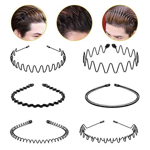 Women Wave Hair Band Anti-skid Girl/'s Wave Hair Hoop Hairband Hair Accessories