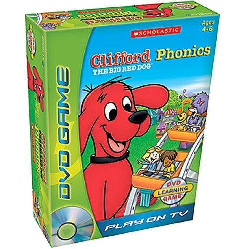 Clifford the Big Red Dog8482; Phonics DVD Game