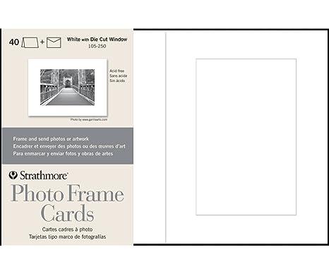 Amazon Strathmore 105 250 Photo Frame Cards Cutout Window