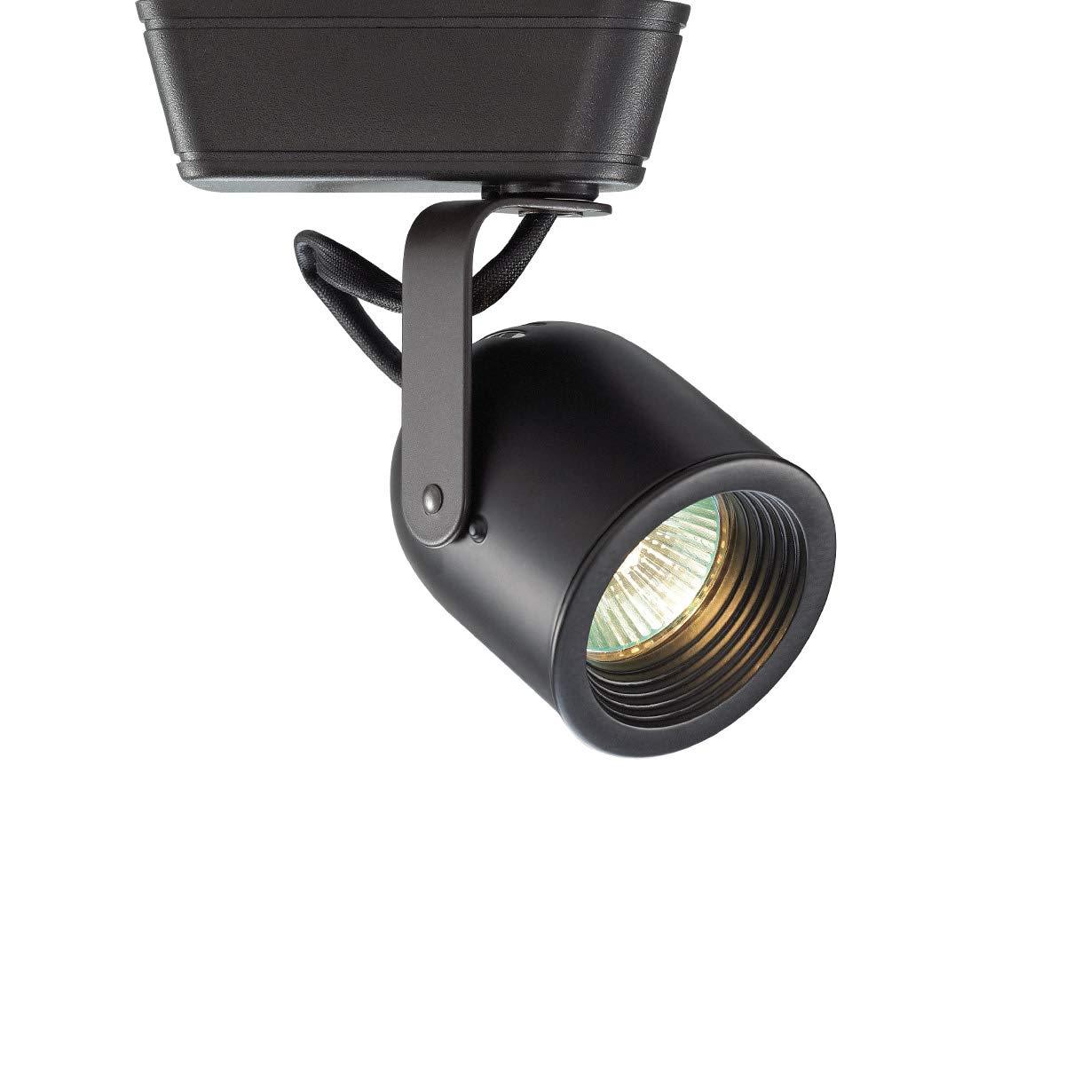 WAC Lighting LHT-808 Low Voltage Track Head 50W, Black