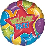 Anagram International Festive Welcome Back Foil Package Balloon, 18""