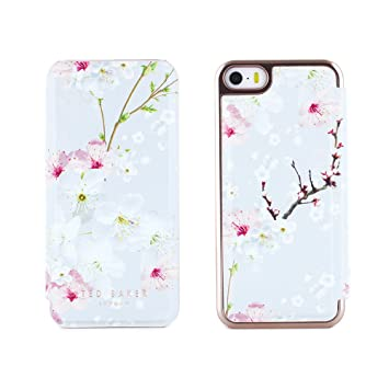 0063991d7d8b4 Ted Baker SS17 ANA Mirror Folio Style Case for iPhone 5   5S with Built in