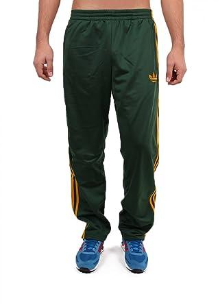 255e0b11477971 Adidas Firebird TP Hose Men dark green-craft gold - S  Amazon.de ...
