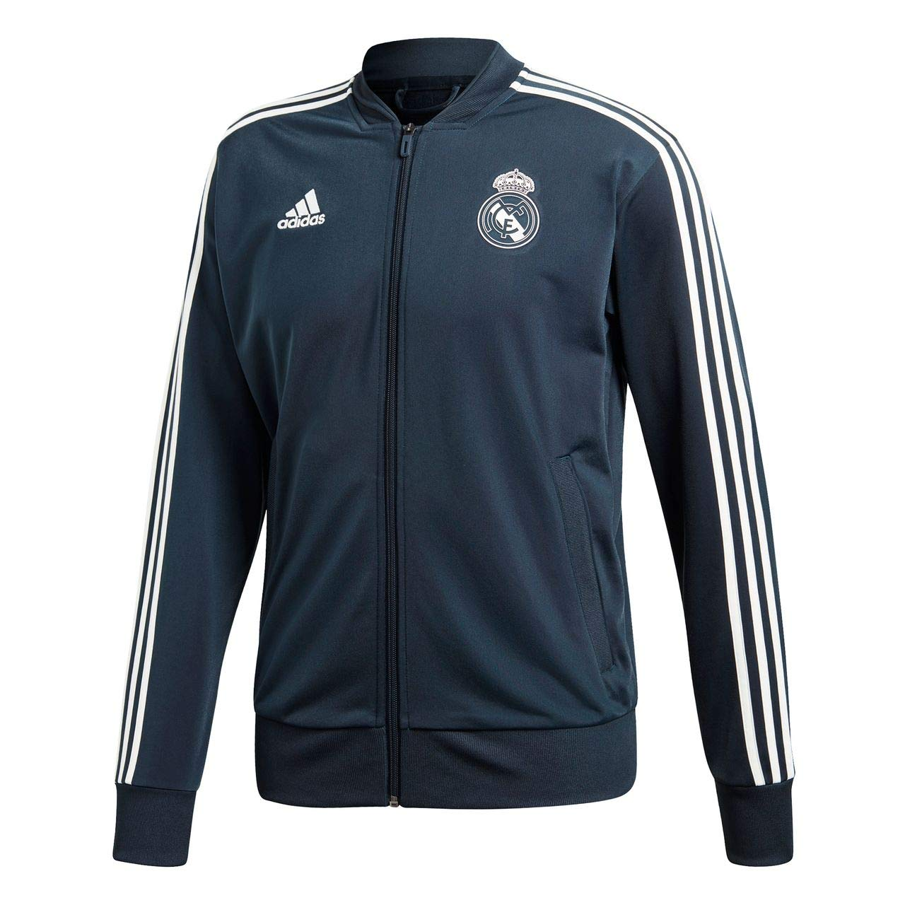 Adidas Herren Real Madrid Polyester Trainingsjacke
