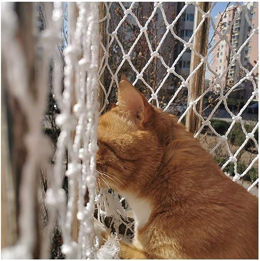 Ezoon Red de seguridad duradera para gatos para balcón, ventanas ...
