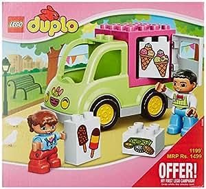 Amazon.com: LEGO Duplo 10586 eiswagen: Toys & Games