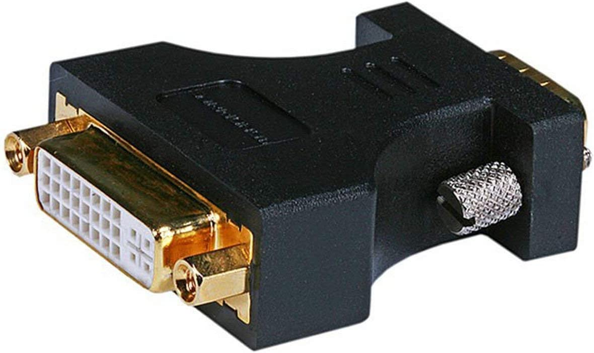 Monoprice 102397 HD15 (VGA) Male to DVI-A Female Adapter,Gold Plated (102397)