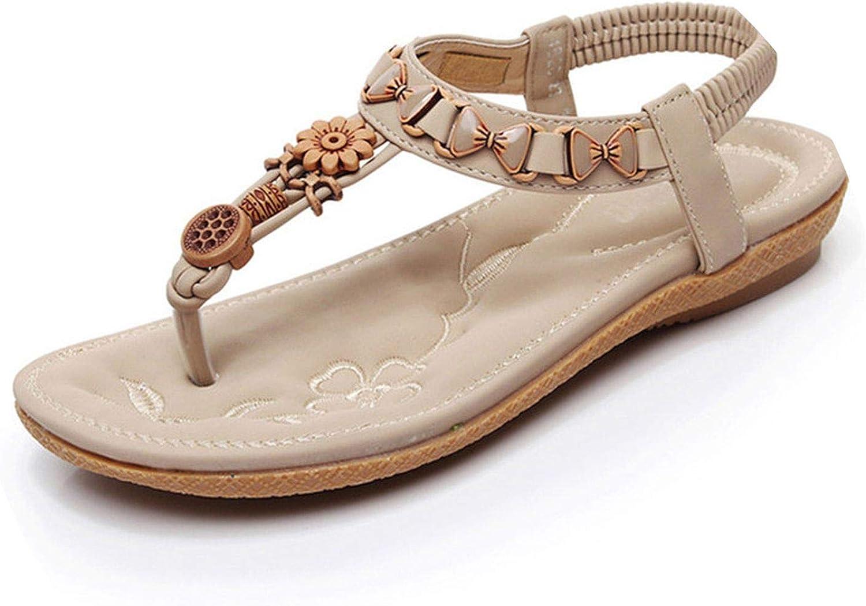 Women Sandals hot Open Toe Sandals Women Shoes on fe String Bead Flat Shoes Woman Tenis Shoes