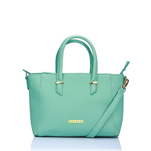 Buy Caprese Porsche Women S Tote Bag Green At Amazon In