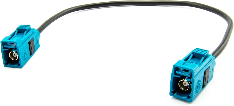 Watermark Wm 0037 Antennenadapter Verlängerung Fakra Buchse Z Kodiert 20cm Auto