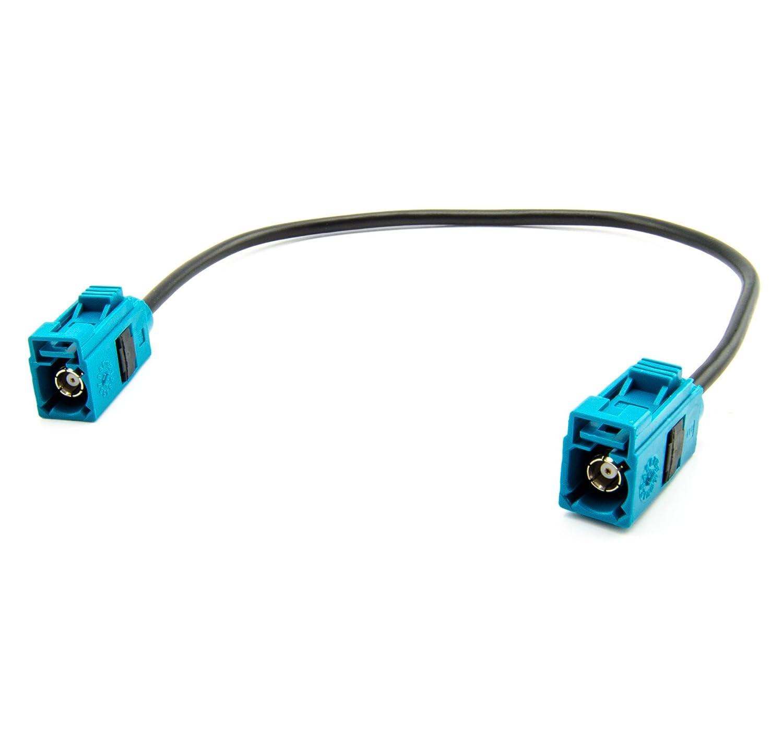 KG Antennenadapter Verl/ängerung 20cm FAKRA Buchse TYP Z Antennenkabel 0037W9 Watermark Vertriebs GmbH /& Co