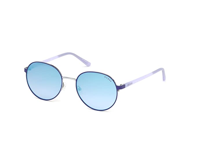 Amazon.com: anteojos de sol Guess GU 3027 91 W azul mate ...