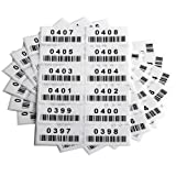 Pre-Printed Consecutively Numbered Labels Sticker