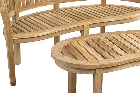 Rongo - Juego de muebles de jardín de madera de teca, hechos ...