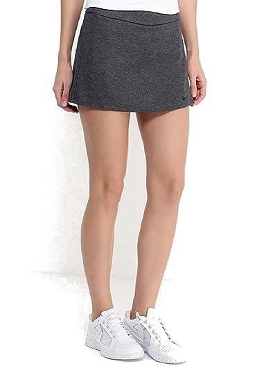 Amazon.com   NIKE Women s Dri-Fit Nikecourt Baseline Tennis Skirt ... e4080c2da0e