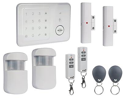 Gran Casa Sistema de alarma con módulo GSM y aplicación ...