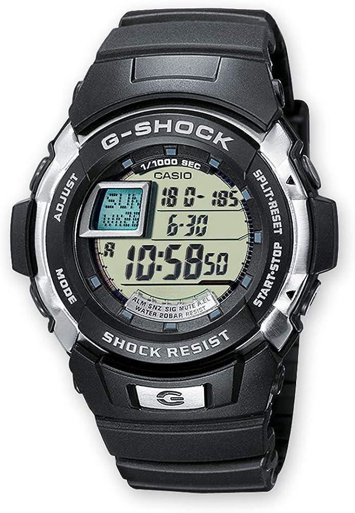 Casio Reloj Digital para Hombre de Cuarzo con Correa en Resina G-7700-1ER