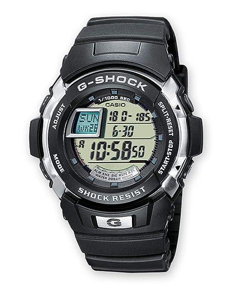 Casio G-SHOCK Reloj Digital, 20 BAR, Negro, para Hombre, G-7700-1ER