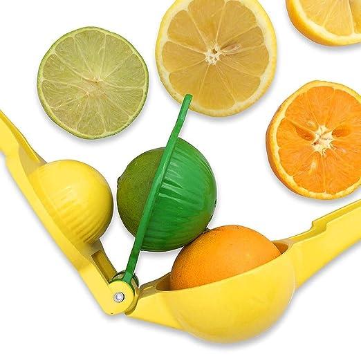 Exprimidor de limón cítrico 2 en 1, exprimidor manual de lima ...