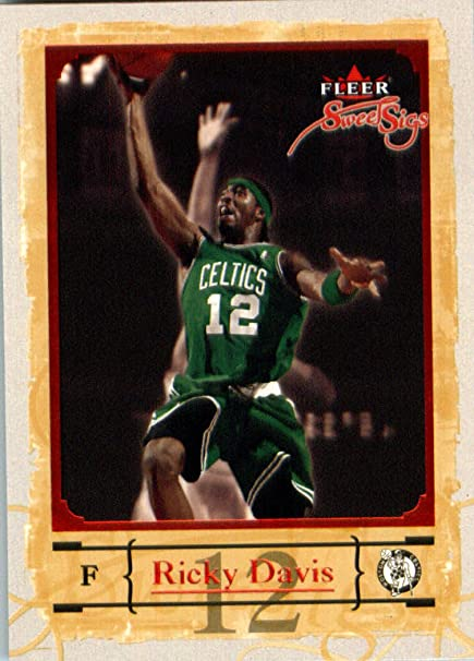 pretty nice 67f31 2820a 2004 05 Fleer Sweet Signatures Basketball Card #10 Ricky ...
