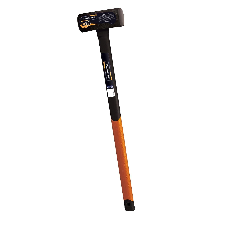 Negro//Naranja Peso total: 3.9 kg Acero al carbono Fiskars Maza 3kg L 1001619 forjado