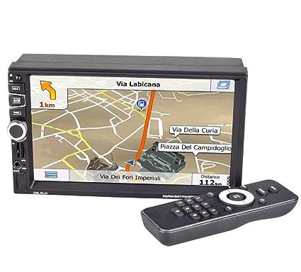 Amazon.com: Y&Jack 7 pulgadas Hd Bluetooth Coche Mp5 Player ...