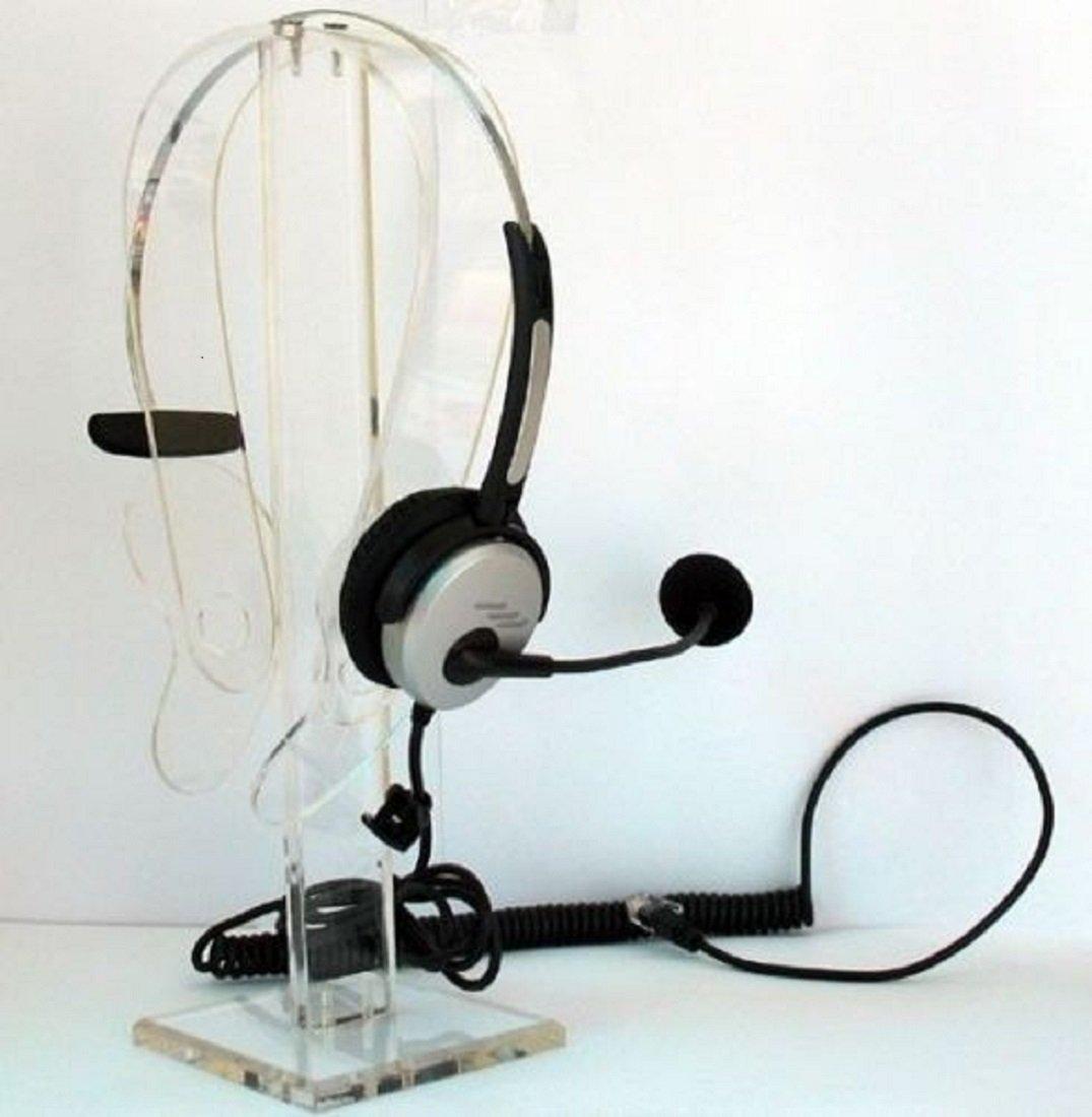 Corded Telephone Headset For Intertel 8520 8560 8600 8620 8660 8662 8690