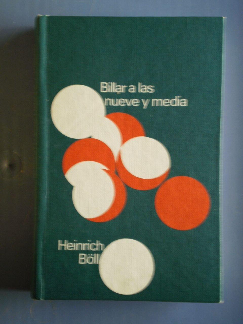 Billar a las nueve y media: Amazon.es: Heinrich (Colonia, Alemania ...