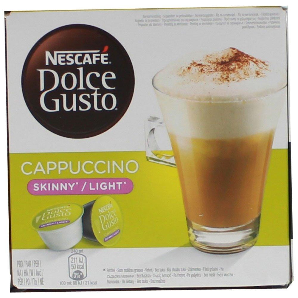 80 x Nescafé Dolce Gusto Cappuccino light, Cápsulas de Café (40 Porciones): Amazon.es: Alimentación y bebidas