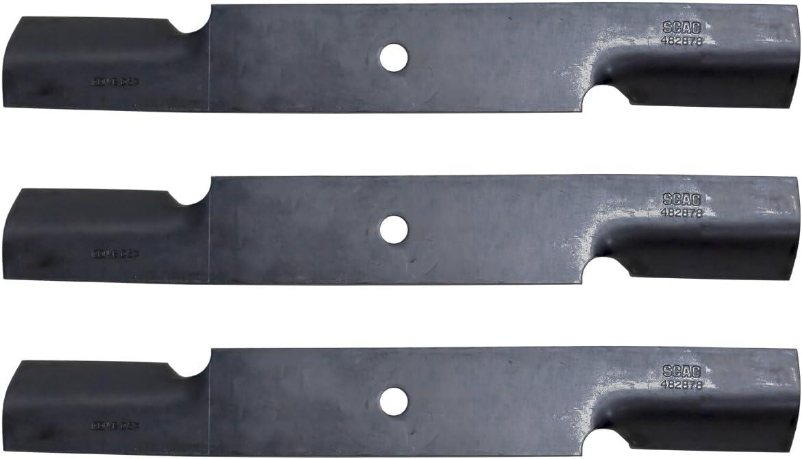 """9 Rotary® High-Lift Blades Scag® A48108 A48185 481707 482878 36/"""" 52/"""" Deck"""