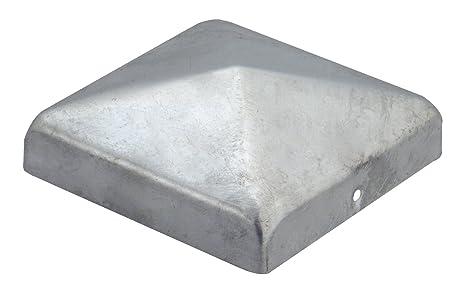 Copripalo zincato a caldo mm piramide tappo per pali