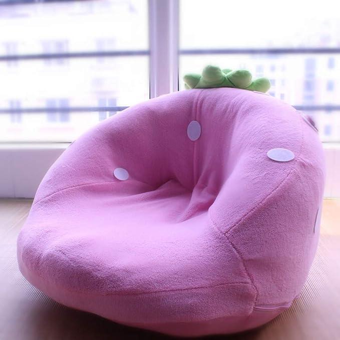Amazon.com: Y&Y - Puf para niños, diseño de fresa, sofá ...