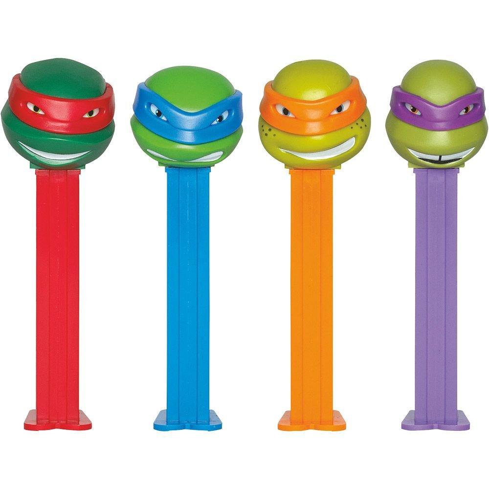 Pez BB79340 Ninja Turtles Pez Dispenser and Candy Set