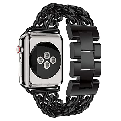 c53764f08f8a Amazon.com  Besde Compatible with for Apple Watch Series 4 40mm 44mm ...
