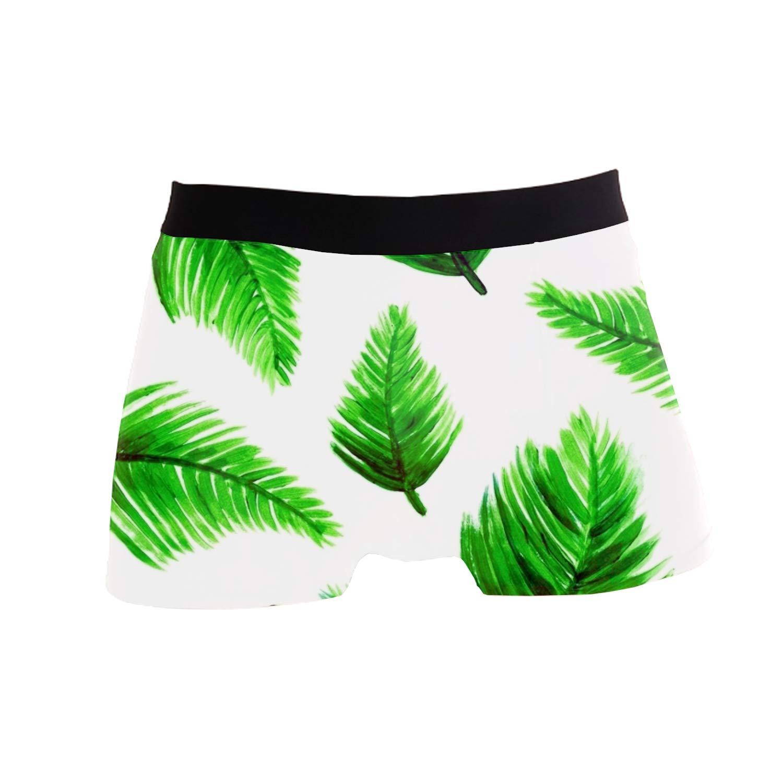 Ltgyth Mens Pouch Boxer Briefs Underwear,Watercolor Koi Fish Printed Trunks