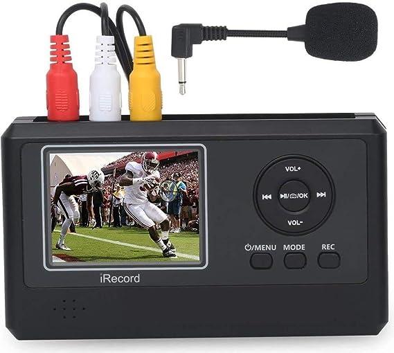 DIGITNOW! Captura de Video para VHS, VCR, Hi8, DVD, TV BOX, Sistemas de Juego, con Altavoz y Pantalla de 2.3 Pulgadas: Amazon.es: Electrónica