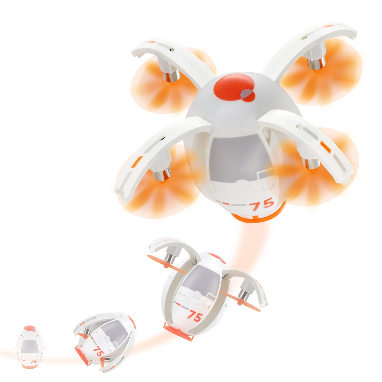 Tenergy TDR Eggsplorer RC Quadcopter Drone Transformable Flying Egg Rolling Stunt 2.4G Auto Hover